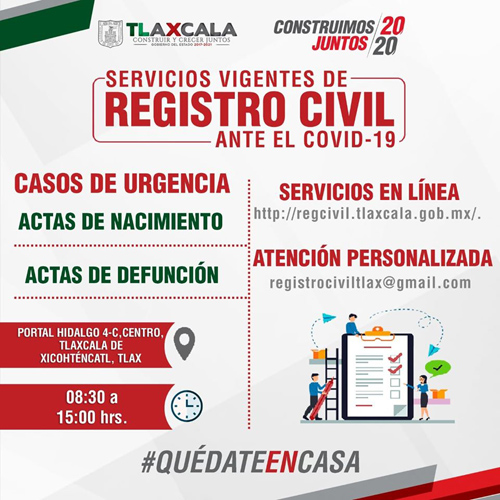 serviciosvigentesdelregistrocivil